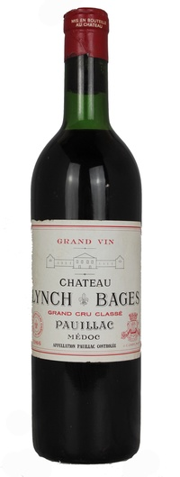 Chateau Lynch-Bages, 1966
